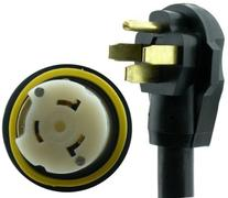 NU-CORD 94561M 50-Feet 50-Amp Rv Cord with Marine Locking