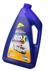 RID-X RV Toilet Treatment Liquid, 16 Treatments, 48oz