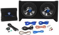 "Rockville RV10.2A 1000w Dual 10"" Car Subwoofer Enclosure+"