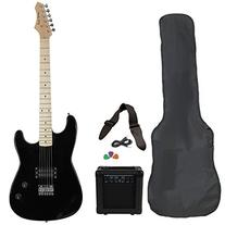 Jameson Guitars RWGT280BK Full Size Electric Guitar Package