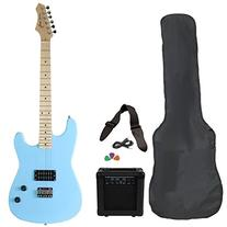 Jameson Guitars RWGT280PBL Full Size Electric Guitar Package