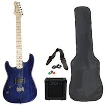 Jameson Guitars RWGT280TBL Full Size Electric Guitar Package