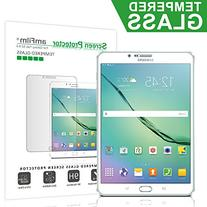 amFilm Galaxy Tab S2 8.0 Tempered Glass Screen Protector, 0.