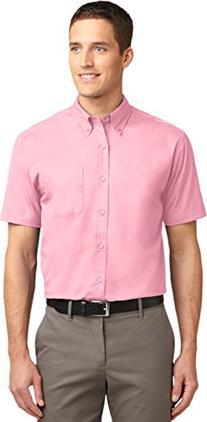 Port Authority S508 Short Sleeve Easy Care Shirt - Bark -