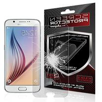 S6 Screen Protector, JETech Premium Tempered Glass Screen