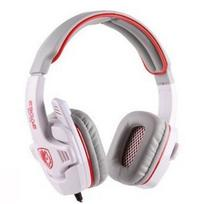 New Sades SA-708 Stereo Pro Pc Headset Gaming Headphone with