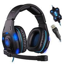 Sades Sa-907 Over-ear Professional Stereo Headset Headband