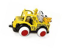 Viking Safari Jeep - Includes Driver, Giraffe, Elephant,