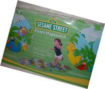 Sesame Street Safari Theme Foam Hopscotch ~ Elmo, Cookie