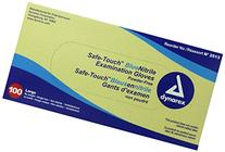 Dynarex 2513 SafeTouch Nitrile Exam Gloves, Non-Latex,