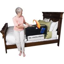 "Safety Bed Rail 30"" with Padded Pouch and Bonus BedCaddie"