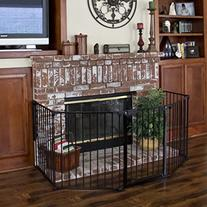 Baby Safety Fence Hearth Gate BBQ Fire Gate Fireplace Metal