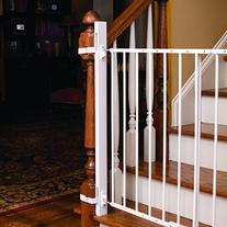 """EZ-Fit: 36"""" Baby Gate Walk Thru Adapter Kit for Stairs +"""
