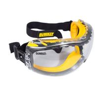Safety Goggle DEWALT DPG82 CONCEALER CLEAR Anti-Fog Lens