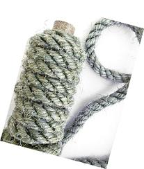 100' Sage Sisal Rope, Green Sisal Rope, Dyed Sage Color