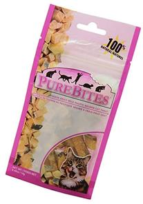 PureBites Salmon for Cats, 0.49oz / 14g - Entry Size