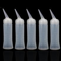 Pack of 5 Salon Applicator Measuring Hairdressing Tinting