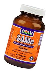 Now Foods Sam-e 400mg, Tablets, 60-Count