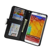 Navor Protective Flip Wallet Case for Samsung Galaxy Note 3