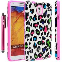 Style4U Samsung Galaxy Note 3 Case - Colorful Leopard Design