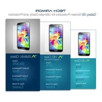 Tech Armor Samsung Galaxy S5 High Defintion  Clear Screen