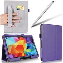 i-BLASON Samsung Galaxy Tab 4 10.1 Case - Leather Book  With