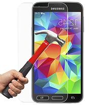 Samsung S5 Screen Protector, InaRock 0.26mm 9H Tempered