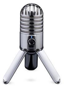 Samson SAMTR Meteor Mic With Pop Filter and Headphone Bundle
