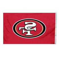 NFL San Francisco 49ers Logo Only 3-by-5 Feet Flag with