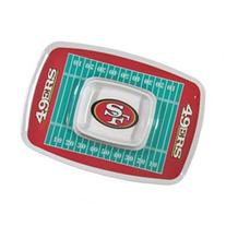 Siskiyou Sports San Francisco 49er's Chip And Dip Tray Chip and Dip Tray