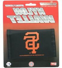 Rico San Francisco Giants Nylon Trifold Wallet