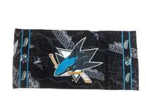 San Jose Sharks Beach Towel: 30x60 Fiber Reactive