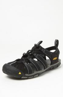 Men's Keen 'Clearwater CNX' Sandal, Size 15 M - Black