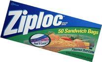Ziploc Sandwich Bags 12-50 Count boxes
