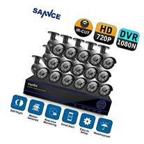 Sannce 16CH AHD 720P HD Security Camera System with 16x 720P