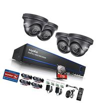SANNCE 4CH 1080P CCTV DVR Recorder with 1TB Hard Disk