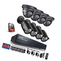 Sannce 8CH 1080P AHD Security DVR Recorder with 1TB Hard
