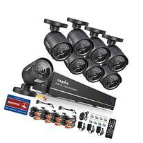 Sannce 8CH Full 960H CCTV DVR Recorder and HD 800TVL