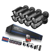 Sannce 1080P 8CH Video Security System with 2TB Hard Drive