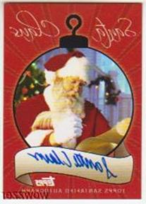 Topps Santa Claus Factory Sealed Box Gift Set ! Includes