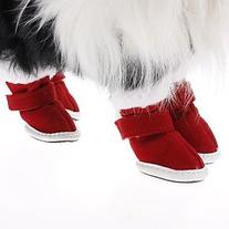 Namsan Santa Red Warm Christmas Shoes Outdoor Snow Boots
