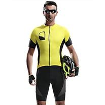 Santic Men's Cycling Short Sleeve Jersey Bicycle Biking