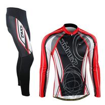 Santic New style Winter Men Cycling Jersey And Pants Fleece