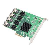 IO Crest 16 Port SAS PCIe 2.0 X4 Controller Card Components