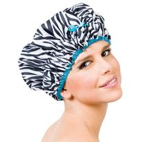 Betty Dain Sassy Stripes Shower Cap