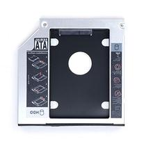 Masione 12.7mm SATA 2nd HDD HD Enclosure Hard Drive Caddy