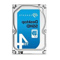 Seagate 4TB 3.5-Inch SATA 6GB/s Desktop  SSHD