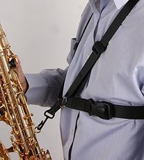 Glory Saxophone Strap,black New Adjustable Alto/tenor/