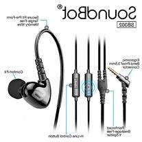 Soundbot SB302 Secure Fit Sports Active Earphone for