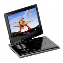 """Supersonic SC-179DVD 9"""" Portable DVD Player with Swivel"""